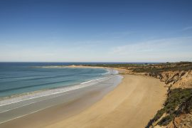 View of Anglesea beach